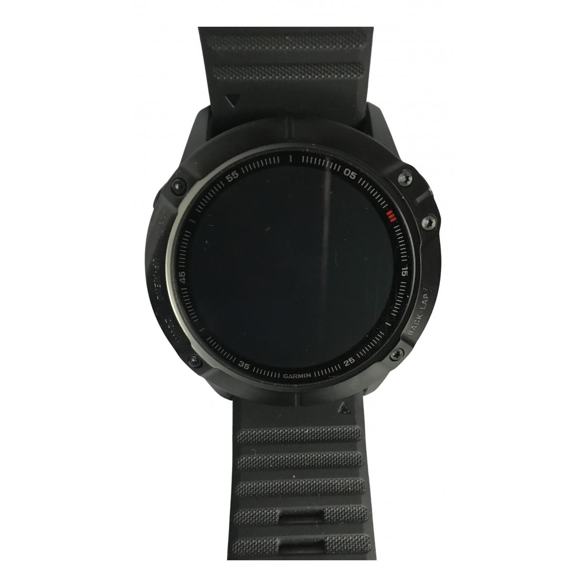 Garmin \N Uhr in  Schwarz Titan