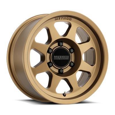 Method Race Wheels 701 Trail Series, 17x8.5 with 5 on 150 Bolt Pattern - Bronze - MR70178558900