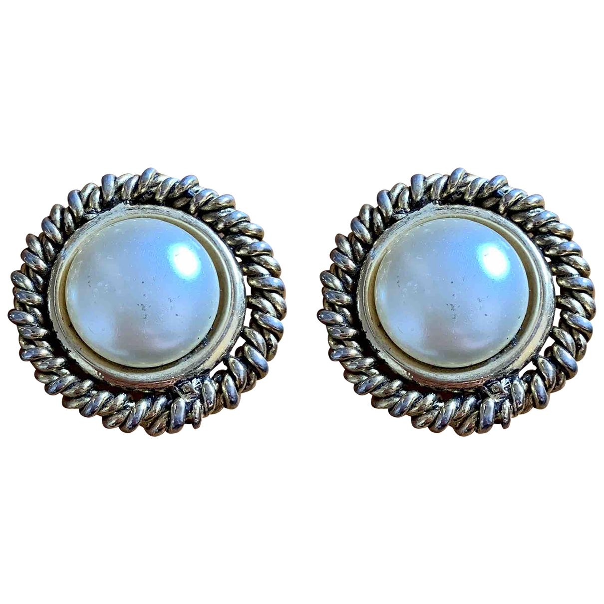 Moschino - Boucles d'oreilles   pour femme en metal - dore