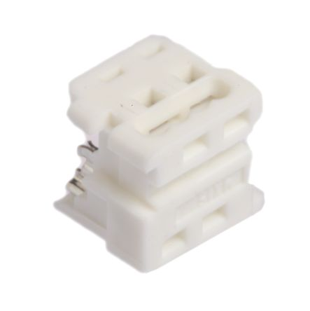 Molex 4-Way IDC Connector Socket for Cable Mount, 2-Row (5)