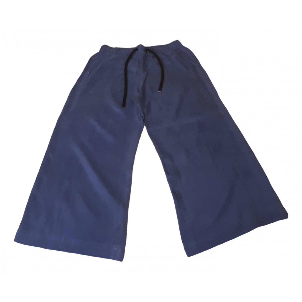 Sport Max \N Trousers for Women 40 IT