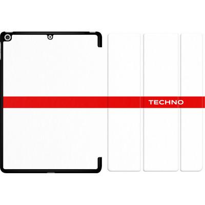 Apple iPad 9.7 (2017) Tablet Smart Case - RED LINE von Berlin Techno Collective