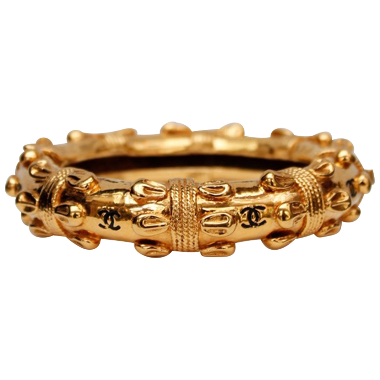 Chanel Baroque Armband in  Gold Metall