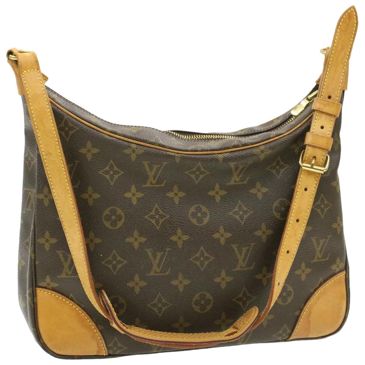 Louis Vuitton Boulogne Brown Cloth handbag for Women N