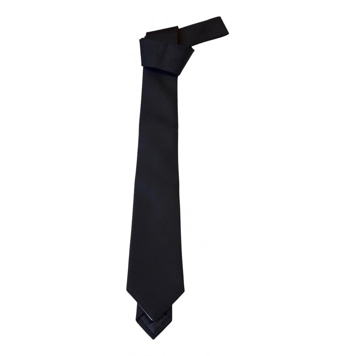 Louis Vuitton N Anthracite Silk Ties for Men N