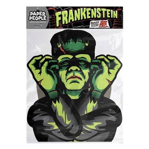 Universal Monsters Frankenstein Paper People