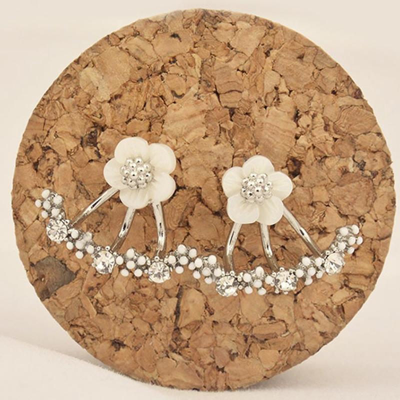Delicate Small Flowers Earrings
