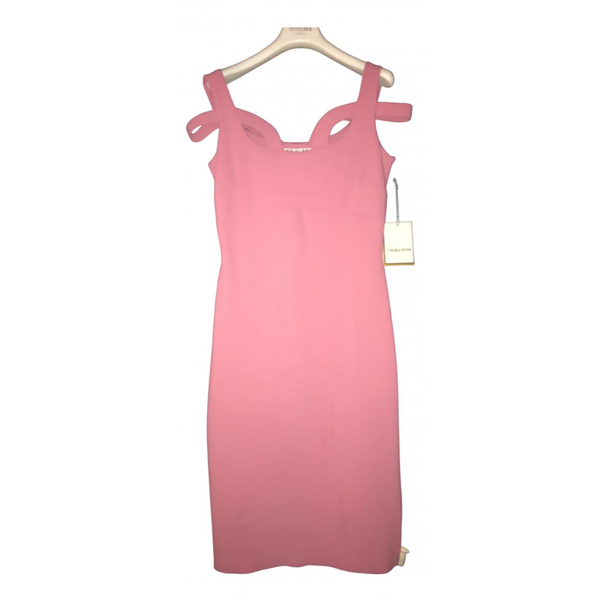 Chiara Boni \N Kleid in  Rosa Polyester