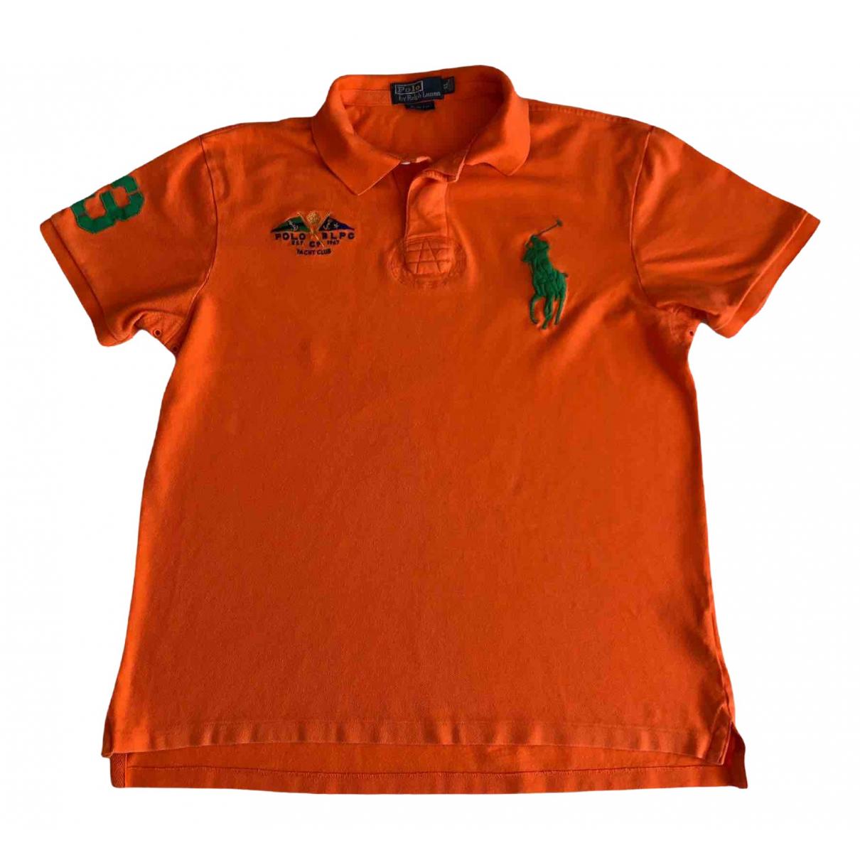 Polo Ralph Lauren \N Poloshirts in  Orange Baumwolle