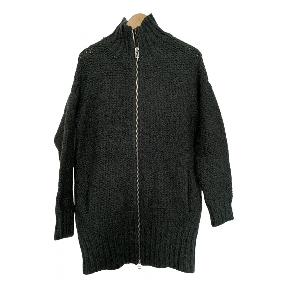 American Vintage - Pulls.Gilets.Sweats   pour homme en laine - vert