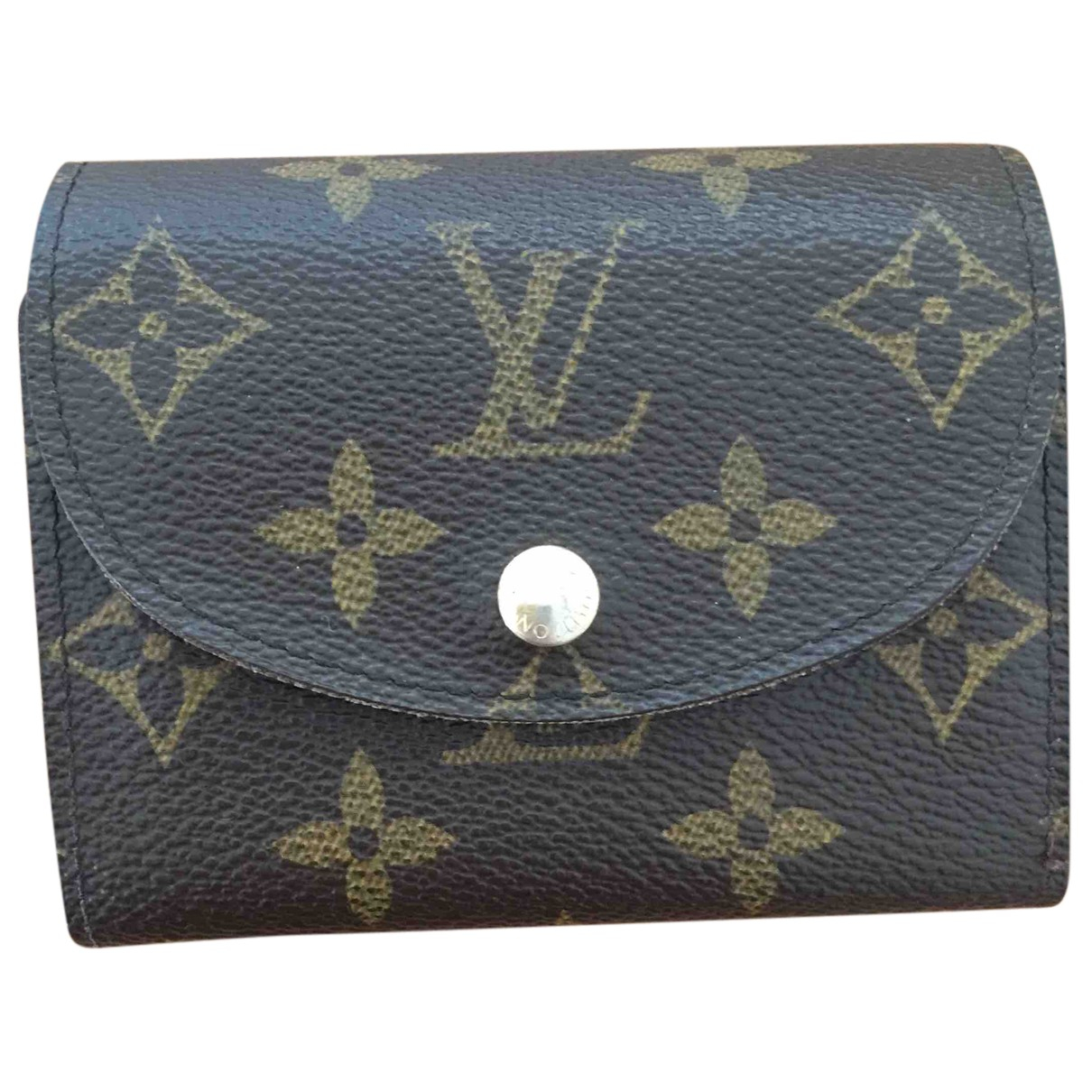 Louis Vuitton Rosalie Brown Cloth Purses, wallet & cases for Women N