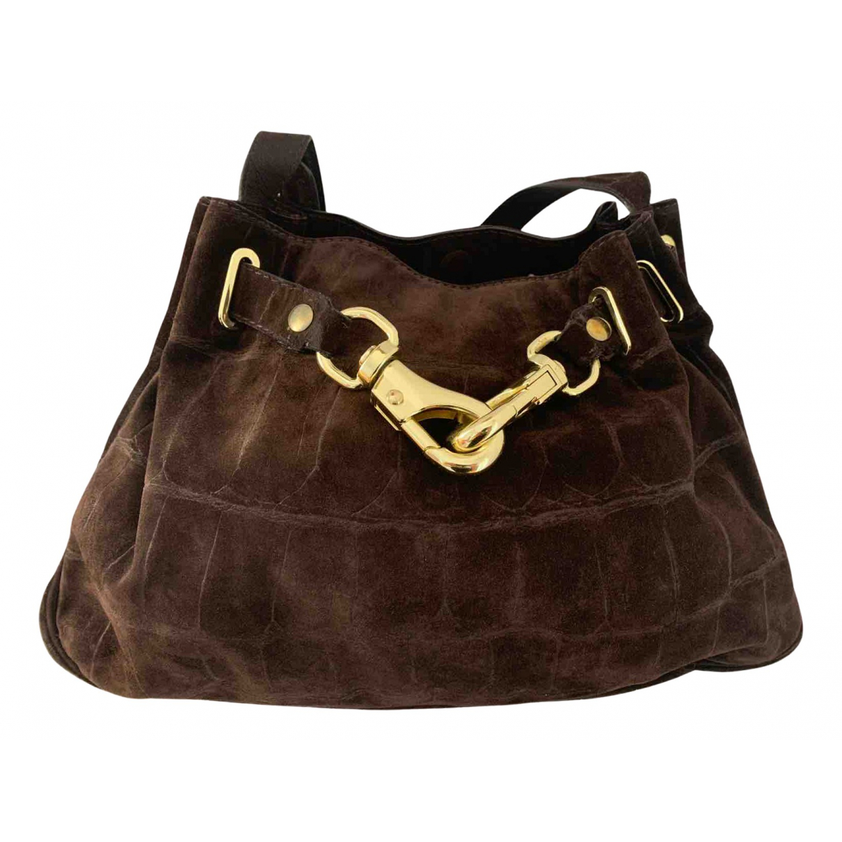 Mulberry N Brown Suede handbag for Women N