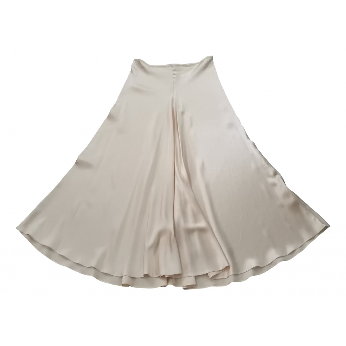 Plein Sud \N Ecru Silk skirt for Women M International