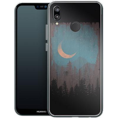 Huawei P20 Lite Silikon Handyhuelle - Those Summer Nights von ND Tank