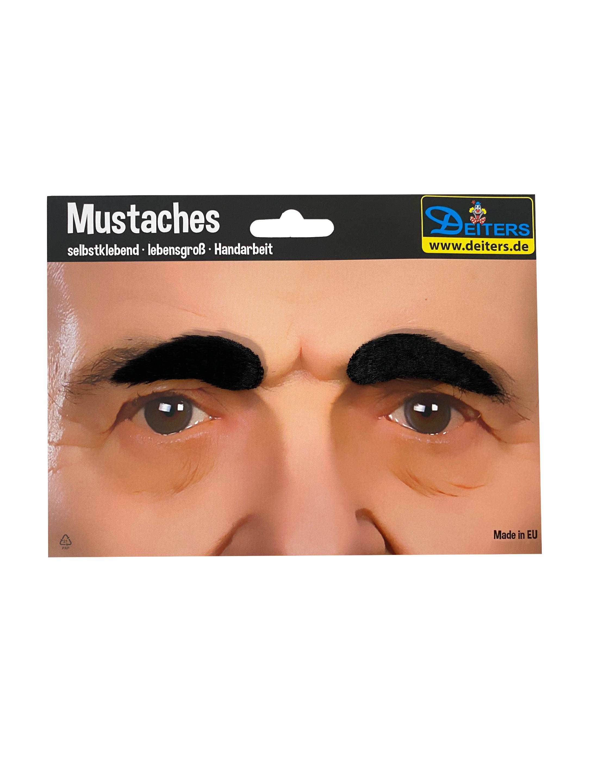 Kostuemzubehor Augenbrauen schwarz