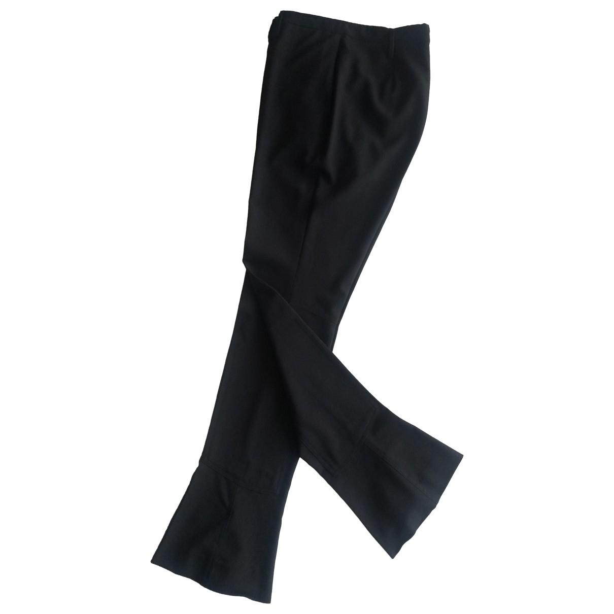Prada - Pantalon   pour femme en laine - noir