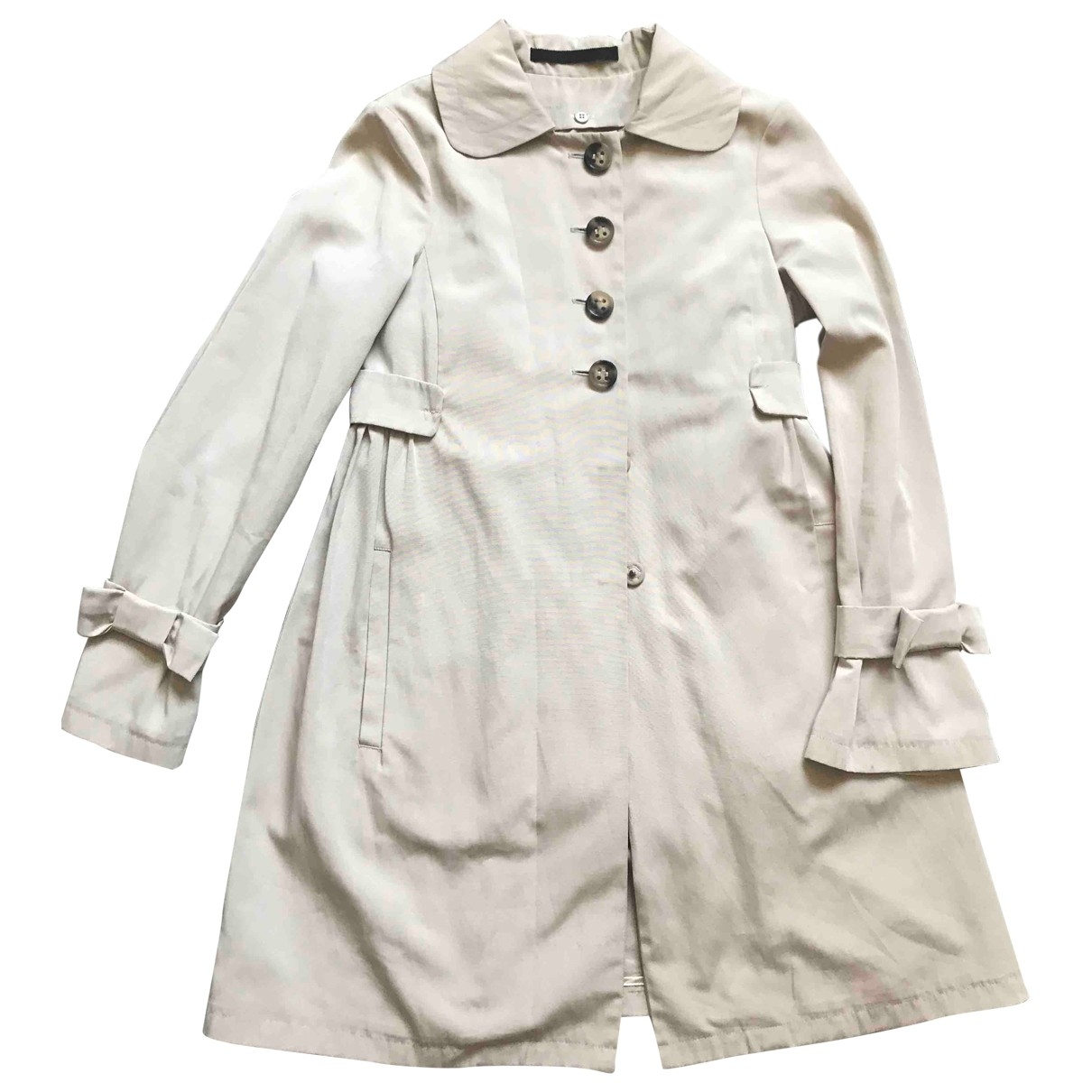 Max & Co - Trench   pour femme - ecru