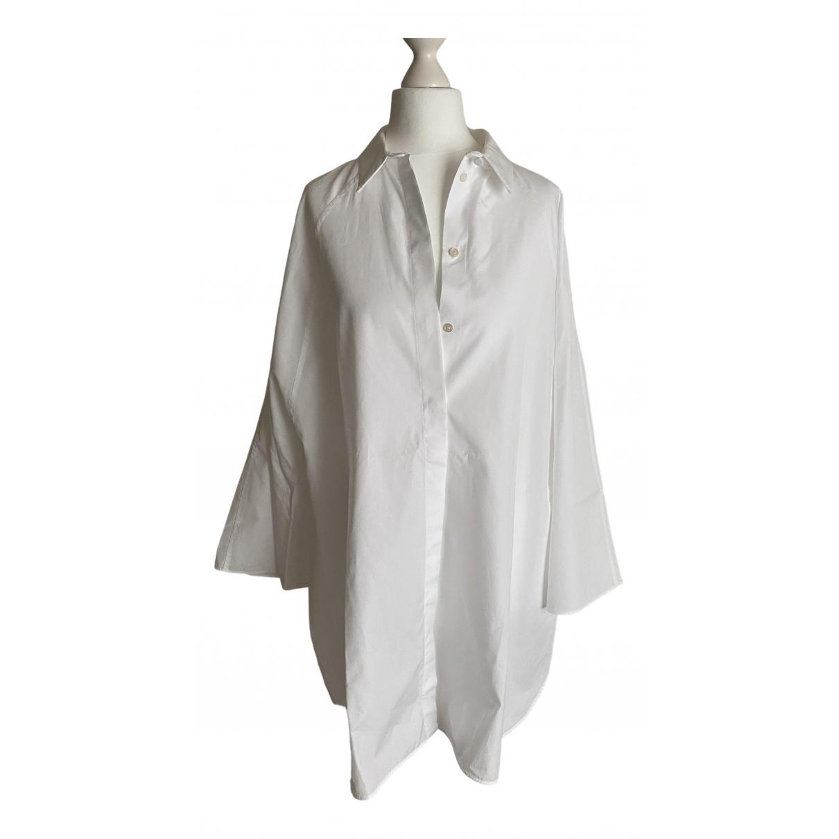 Giambattista Valli - Top   pour femme en coton - blanc