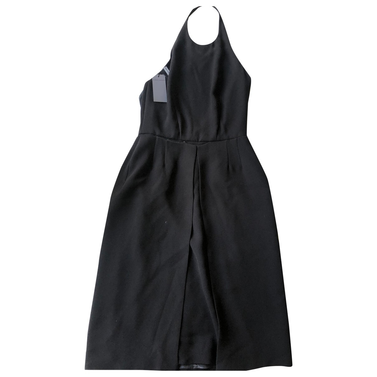 Alberta Ferretti \N Kleid in  Schwarz Synthetik