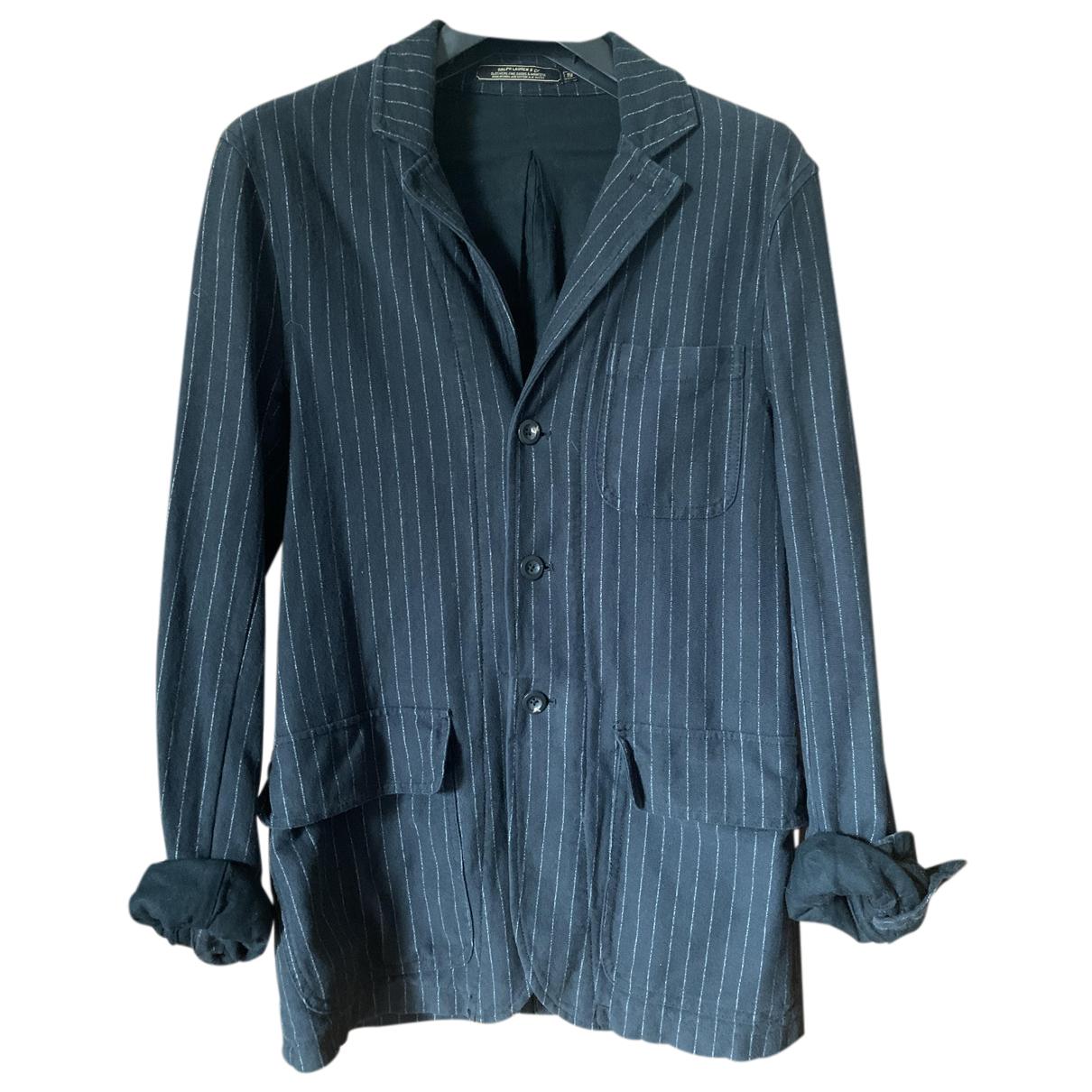 Ralph Lauren - Vestes.Blousons   pour homme en coton - noir
