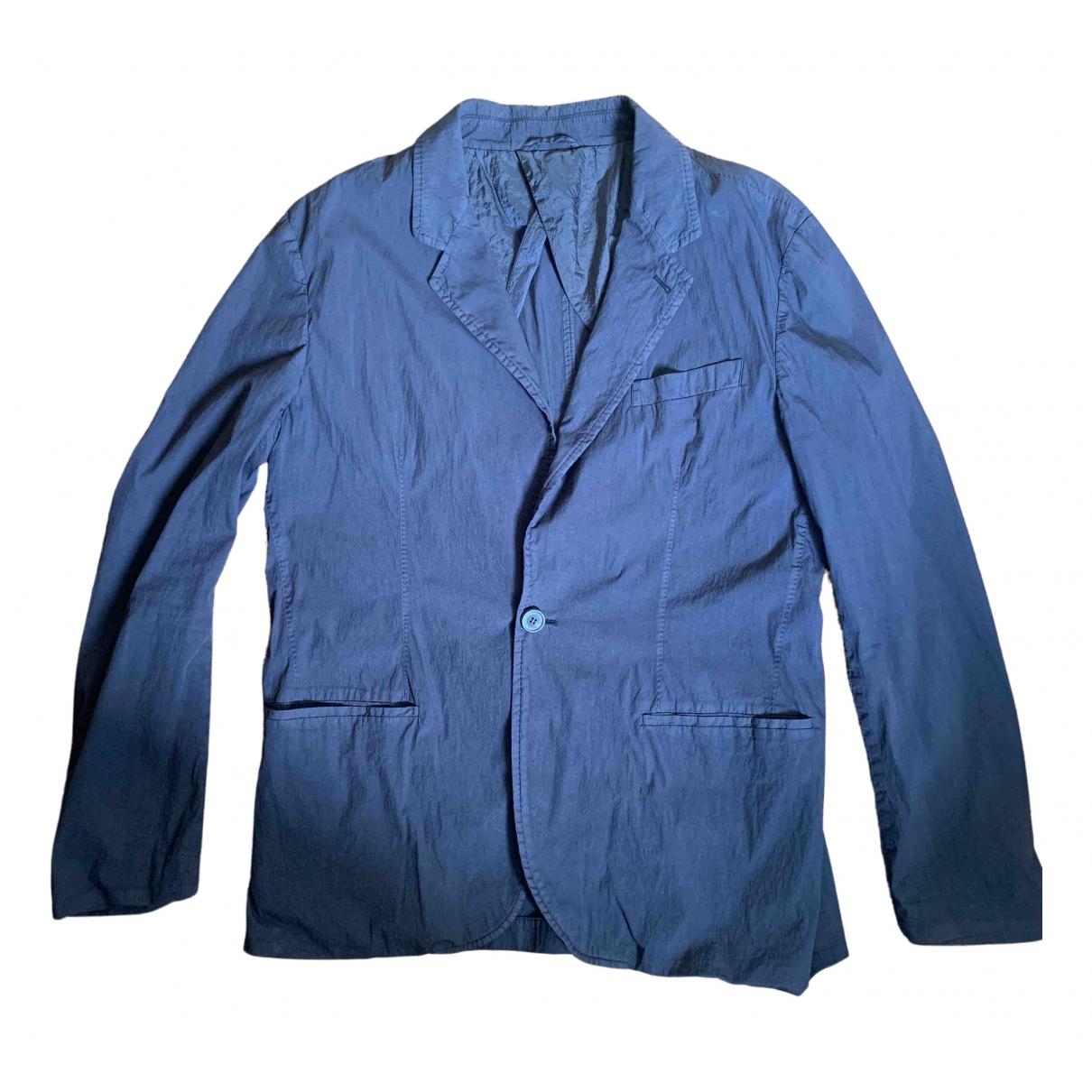 Lanvin \N Jacke in  Blau Baumwolle