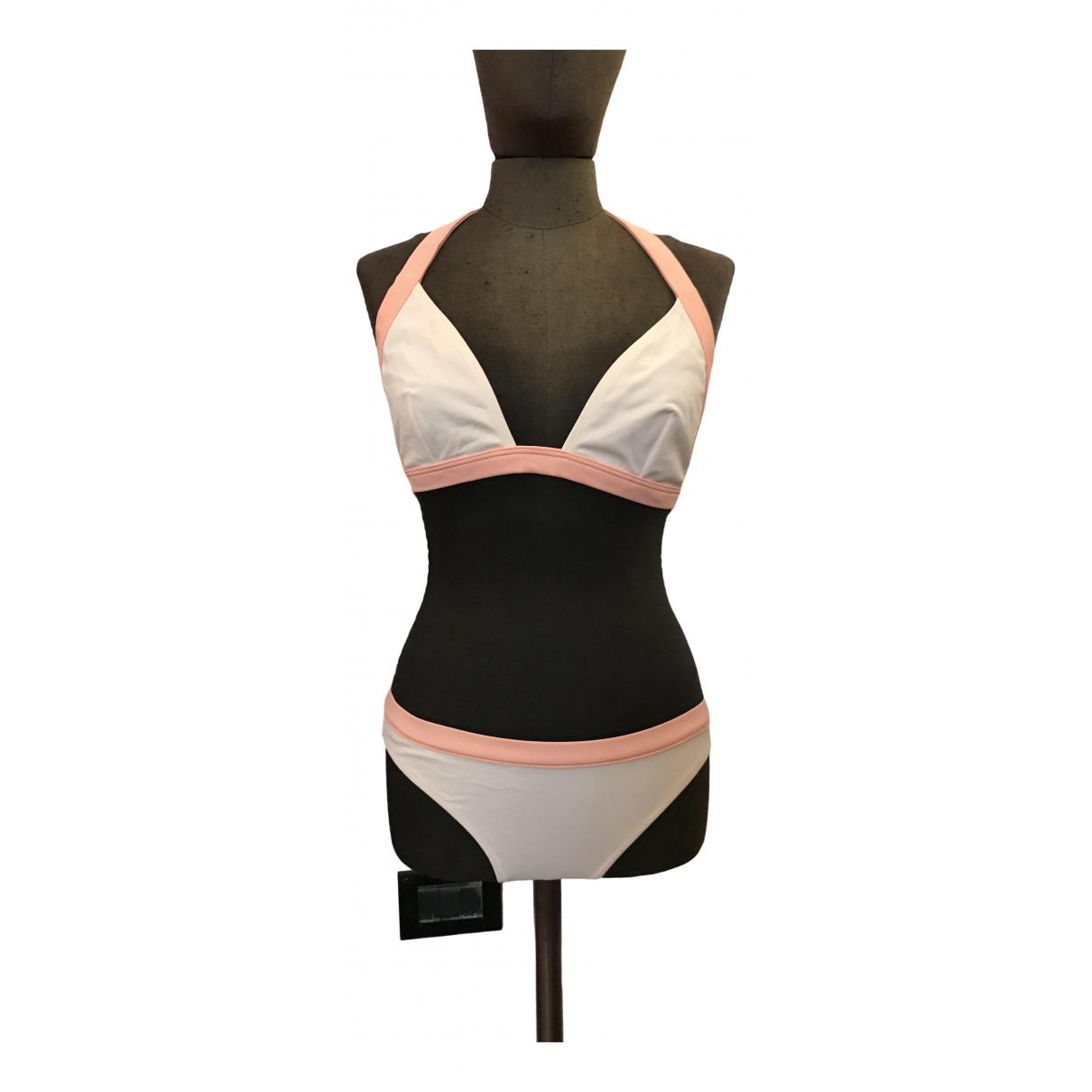 Romeo Gigli \N Pink Lycra Swimwear for Women 42 IT