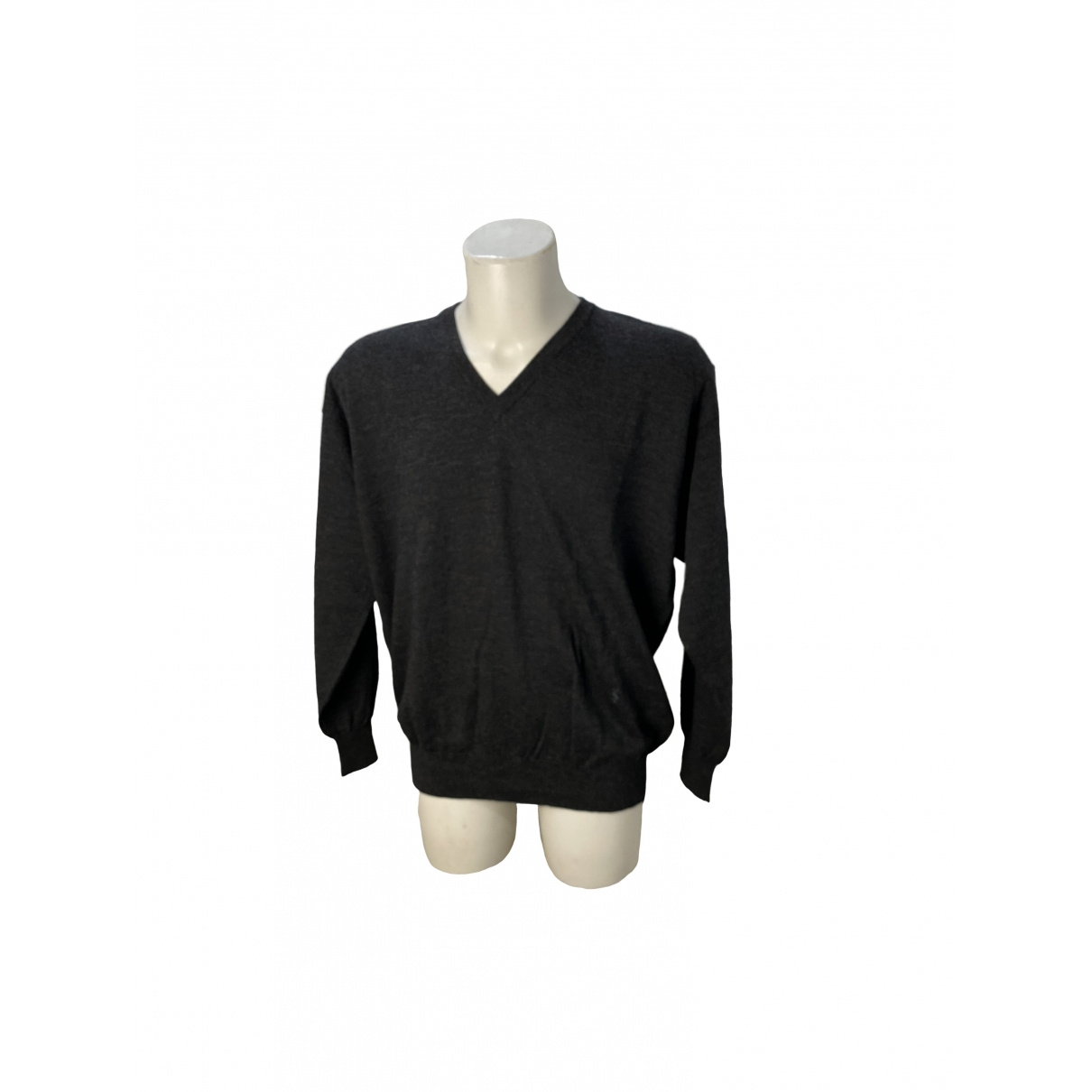 Yves Saint Laurent \N Pullover.Westen.Sweatshirts  in  Grau Wolle