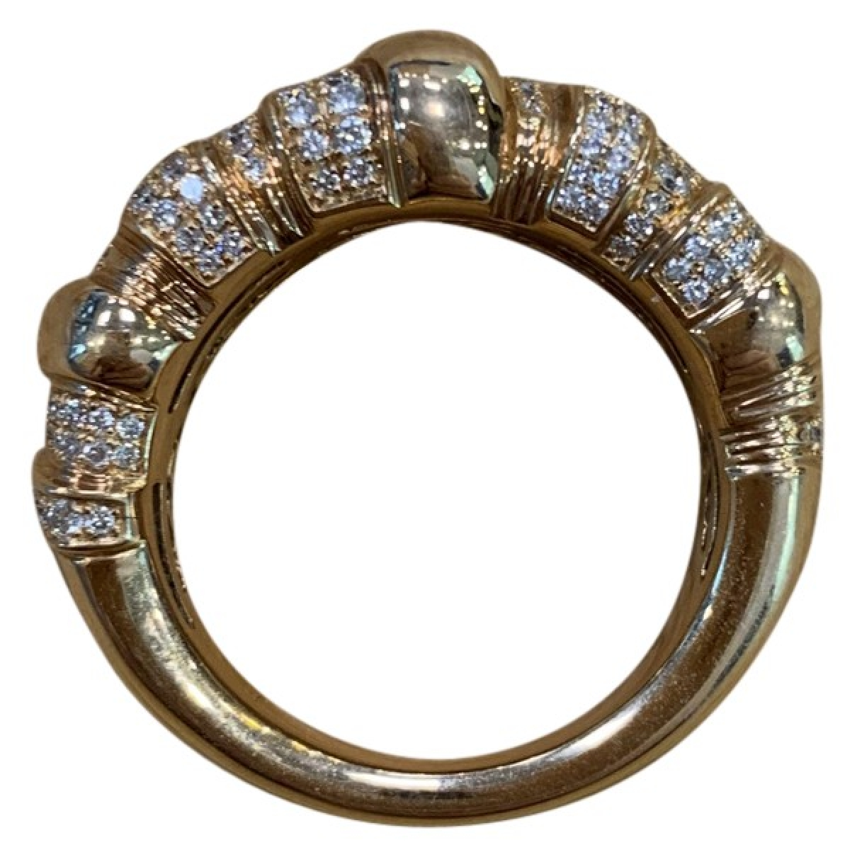 Non Signe / Unsigned \N Ring in Rosegold
