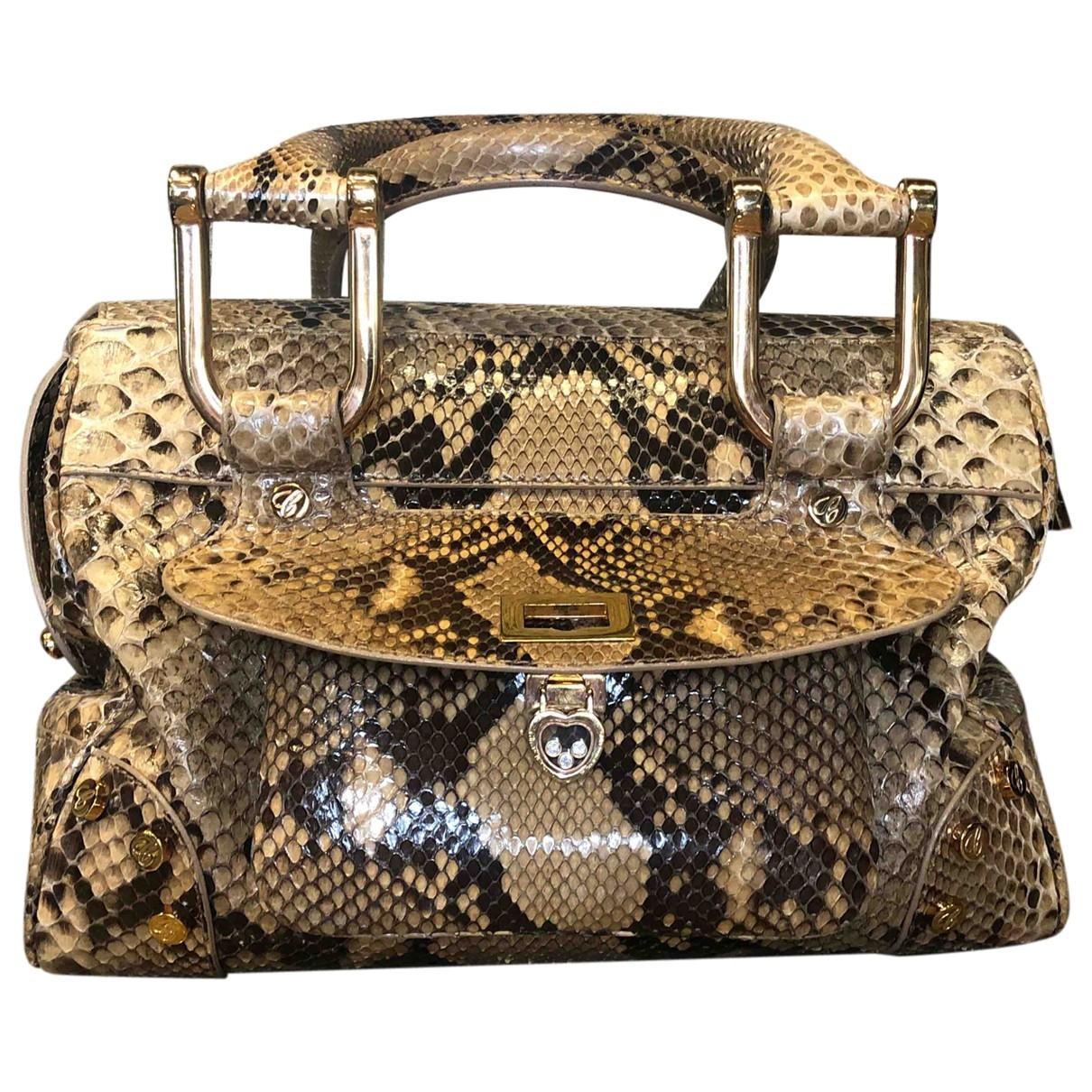 Chopard \N Beige Python handbag for Women \N