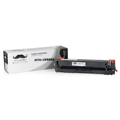 Compatible HP 202A CF500A cartouche de toner noire - Moustache®
