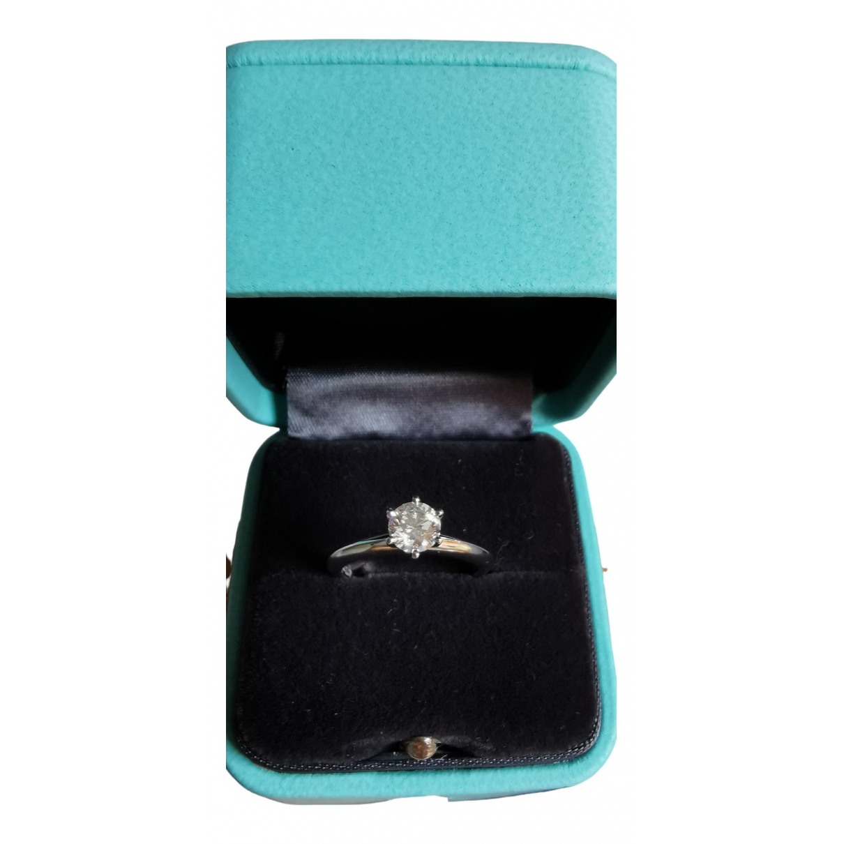 Tiffany & Co \N Silver Platinum ring for Women 3 US