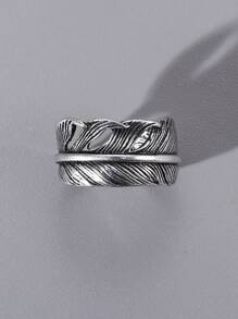 Feather Design Ring
