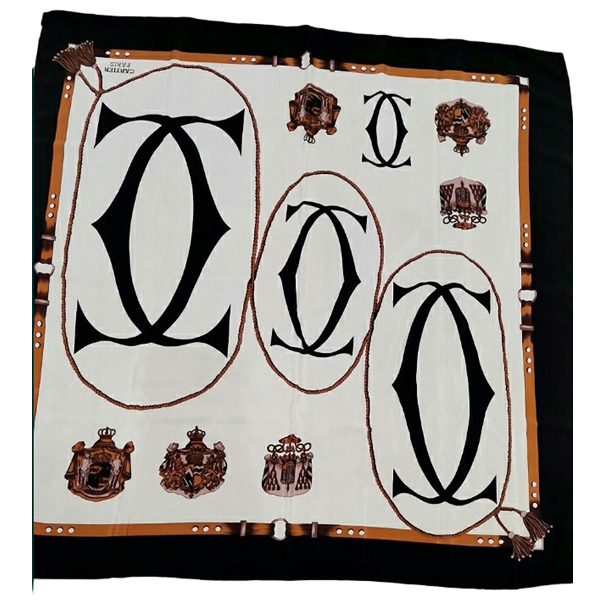 Bufanda de Seda Cartier