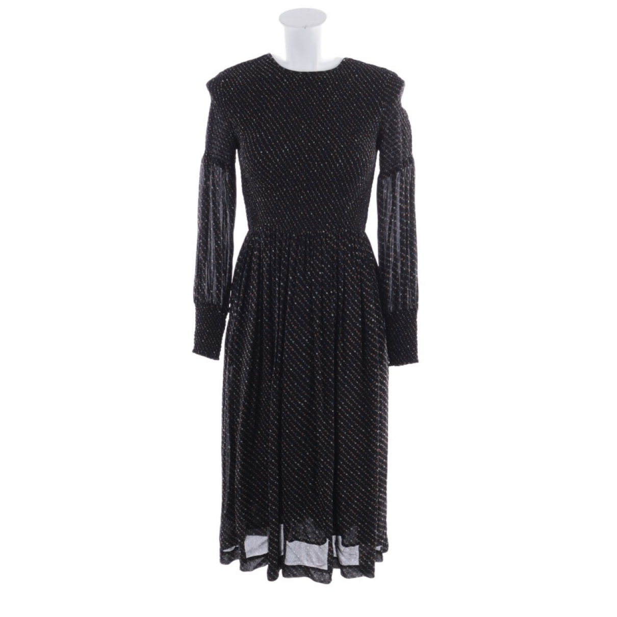 Ganni \N Black dress for Women 32 FR