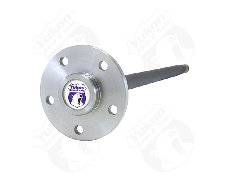 Yukon Gear & Axle YA WM35C-30-R-HD Yukon 4340 Chrome Moly Alloy Axle For Model 35 HD C Clip Drum Brakes Right Hand