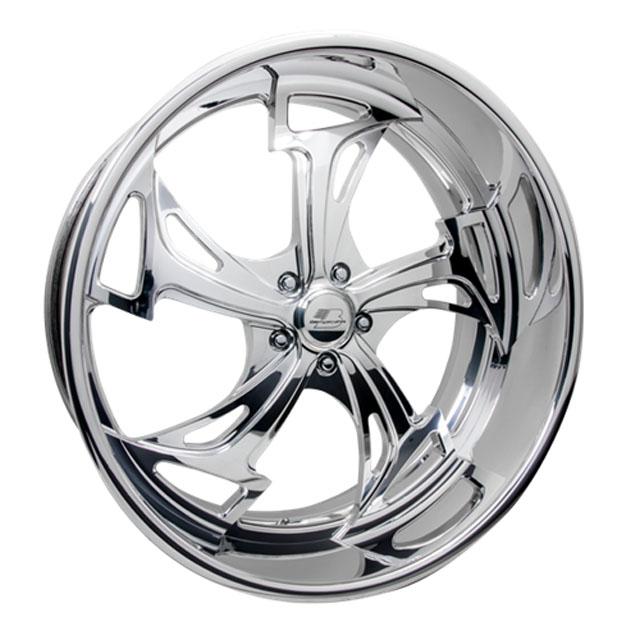 Billet Specialties DT96249Custom BLVD 96 Wheels 24x9