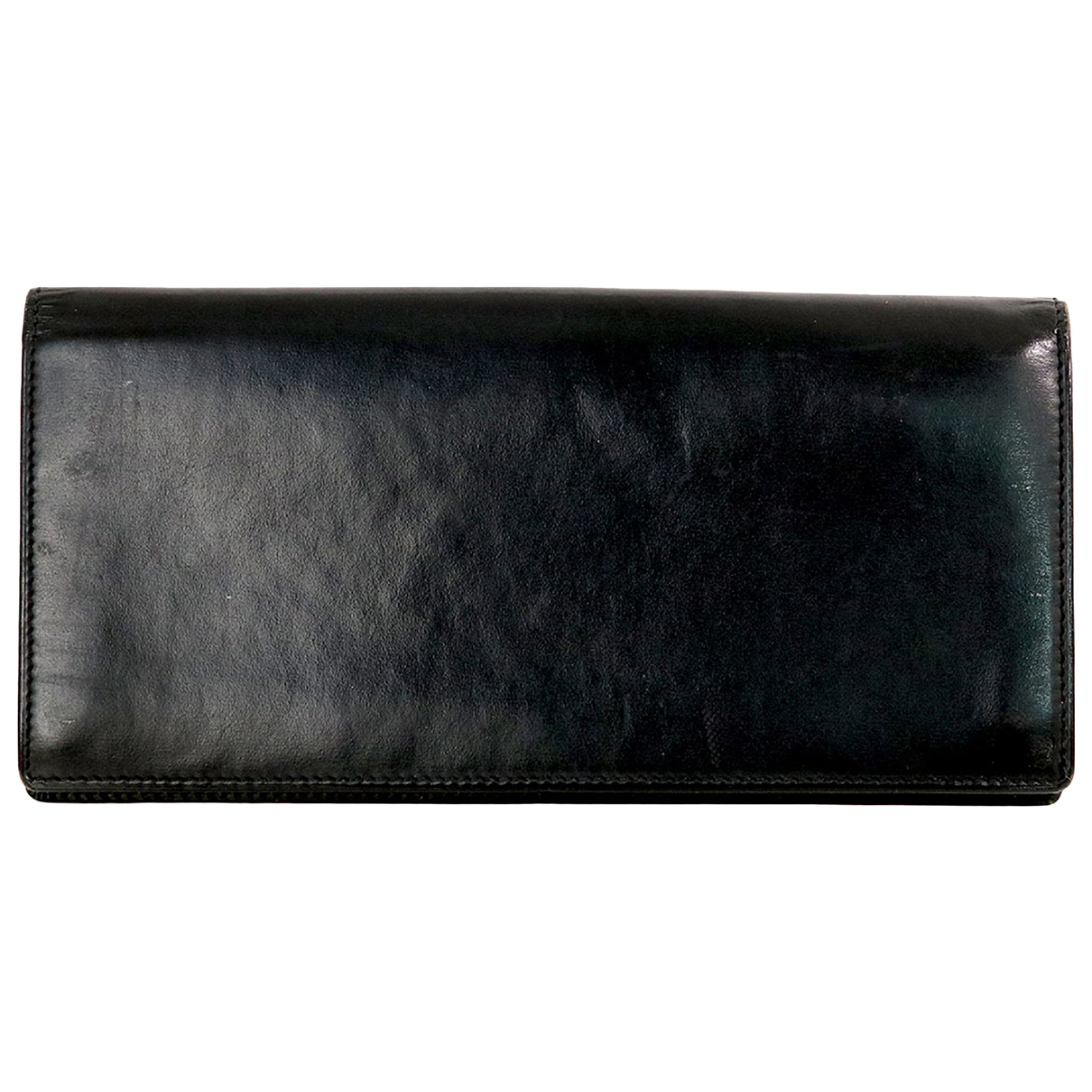 Cartier N Black Leather wallet for Women N