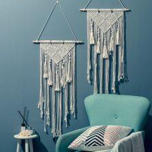 1pc Woven Tassel Hanging Decor