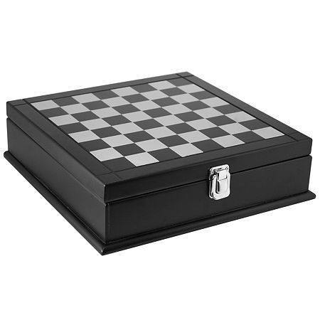 Natico 8-in-1 Assorted Game Box, One Size , Black