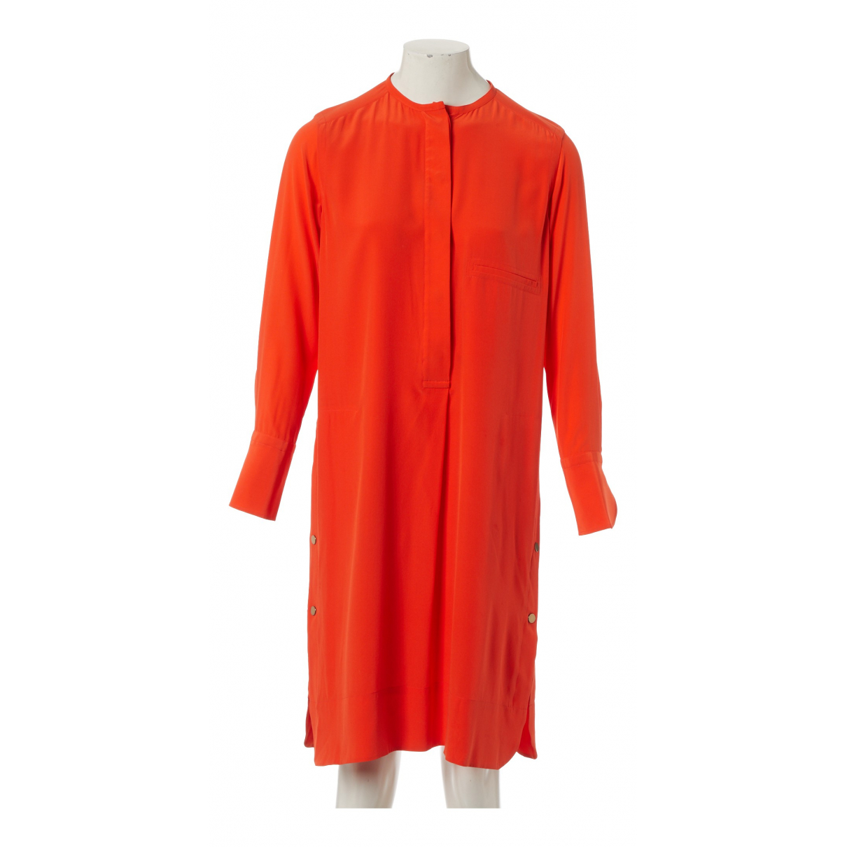 Hermès N Orange Silk dress for Women 36 FR