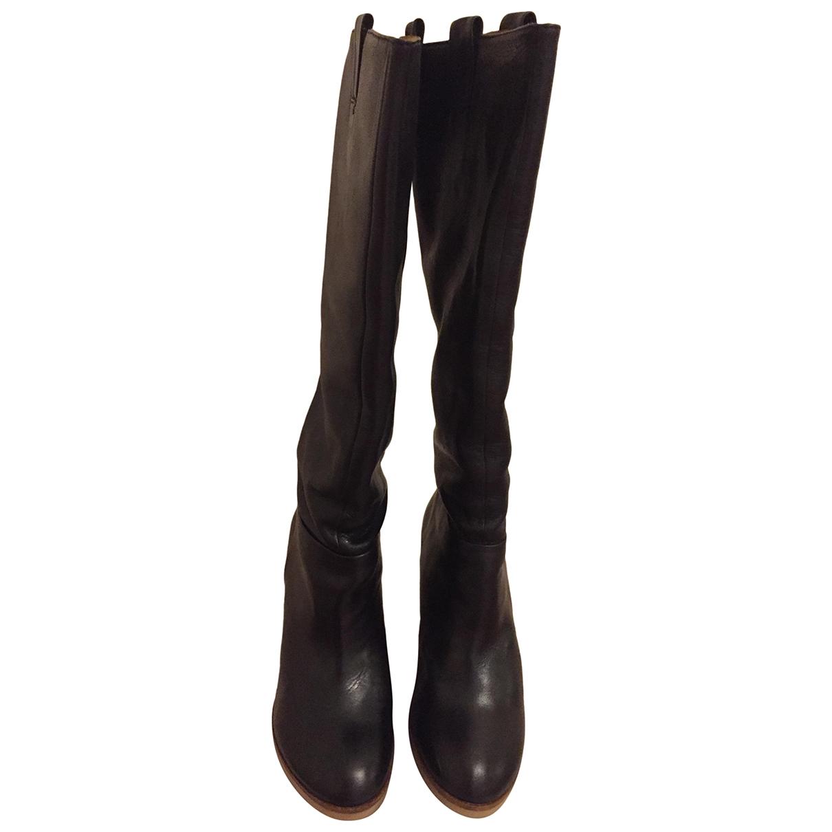 Botas de Cuero Zara
