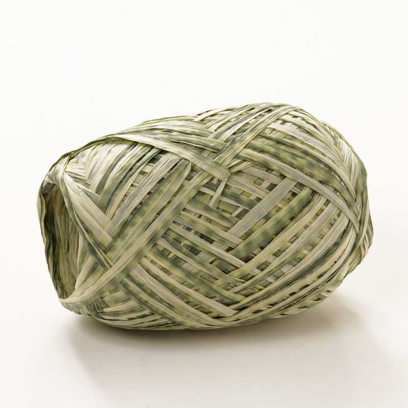 Colored 18mm X 100 Yards Green Divine Paper Raffia by Ribbons.com