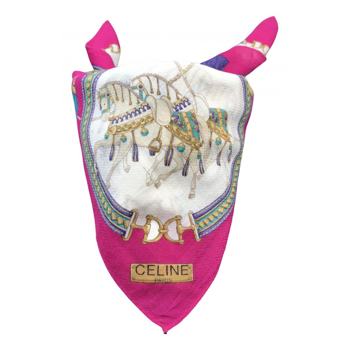 Celine - Carre   pour femme en coton