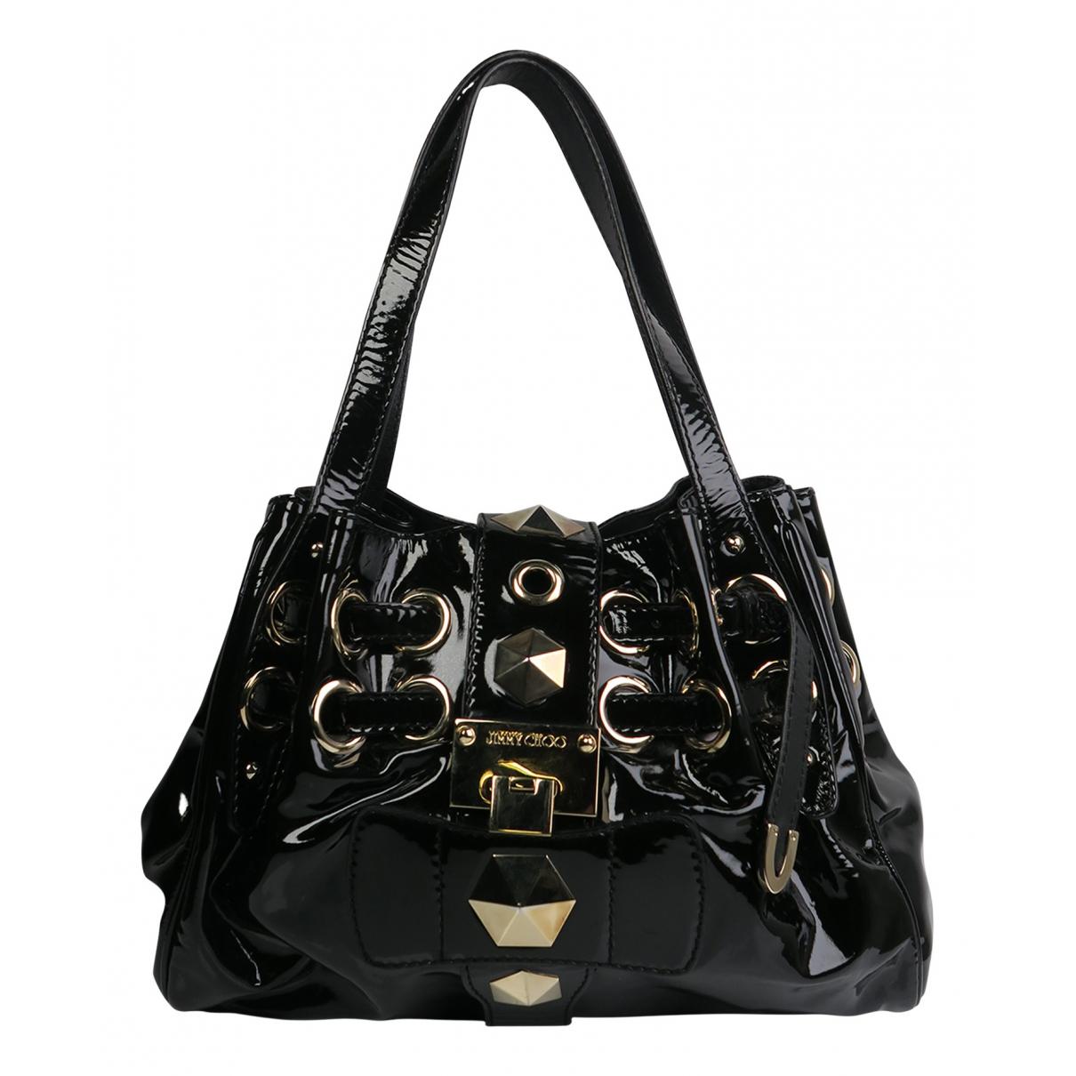 Jimmy Choo N Black Patent leather handbag for Women N