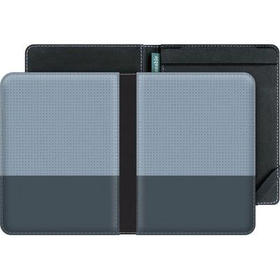 tolino vision eBook Reader Huelle - Dot Grid Blue von caseable Designs