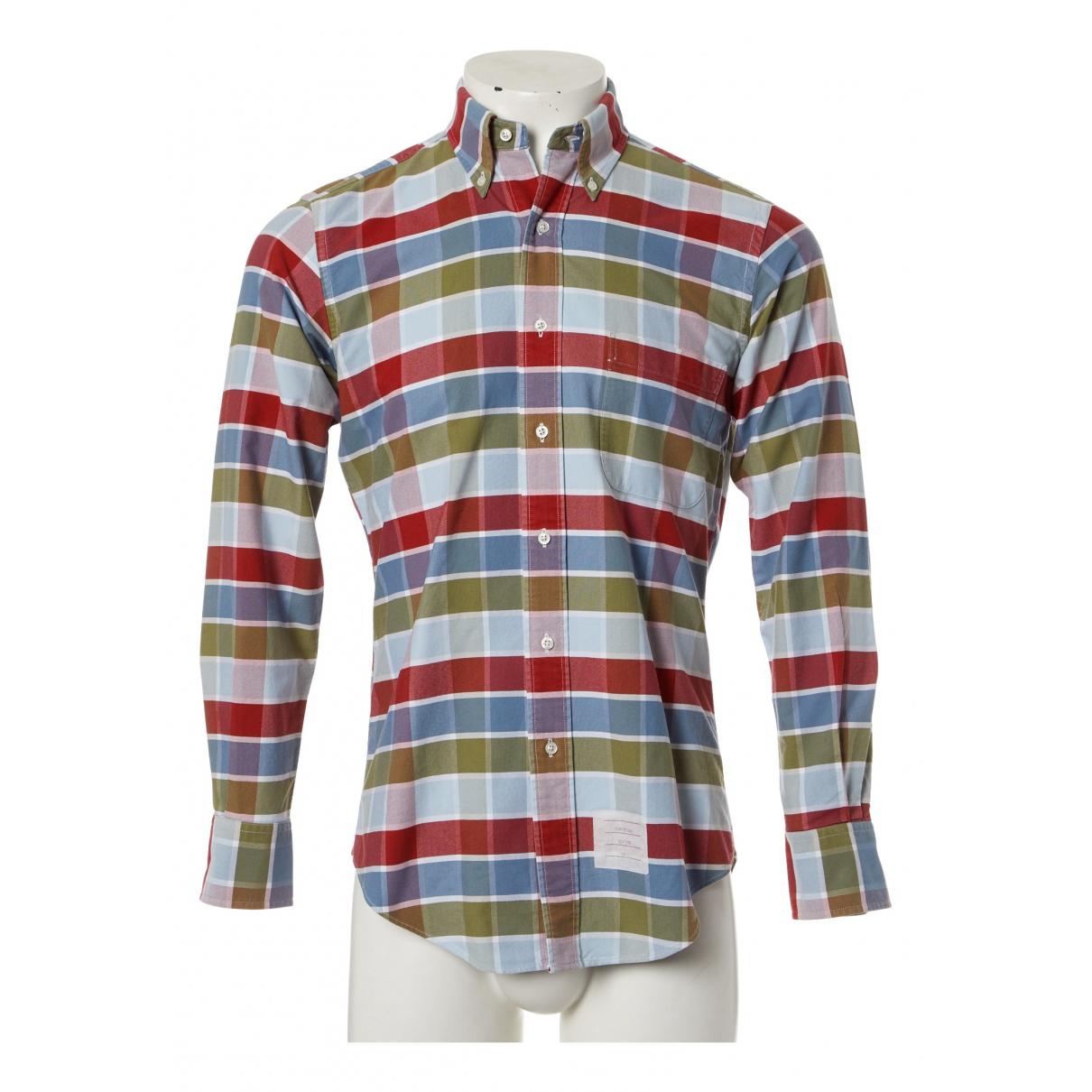 Thom Browne N Multicolour Cotton Shirts for Men S International