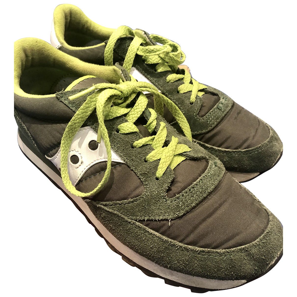 Saucony N Green Cloth Trainers for Women 40.5 EU