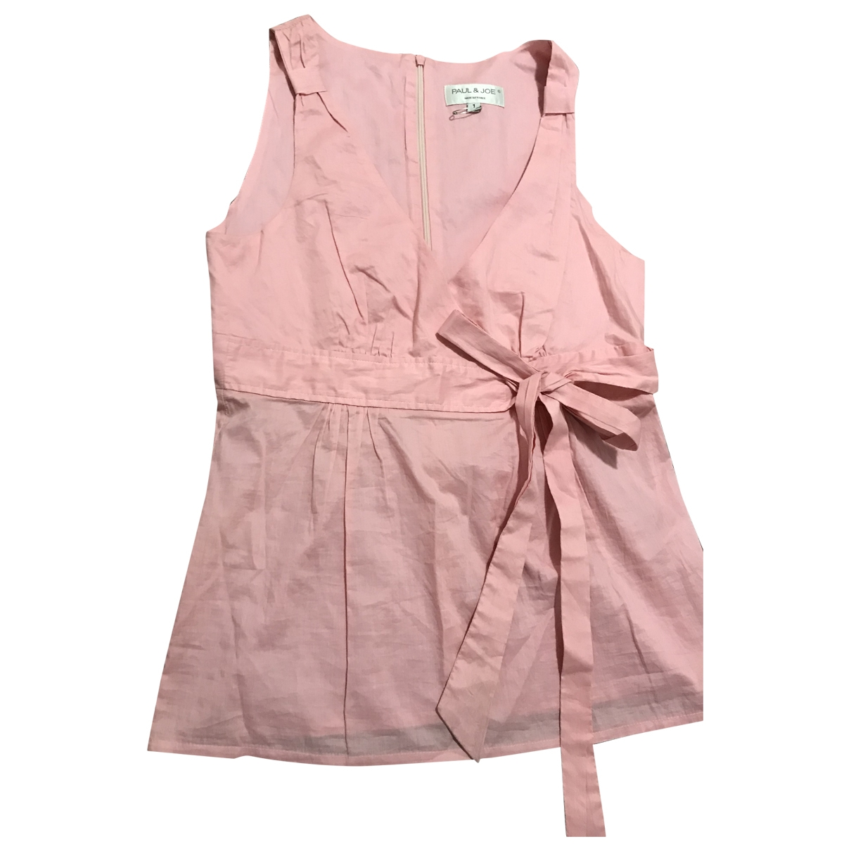 Paul & Joe - Top   pour femme en coton - rose