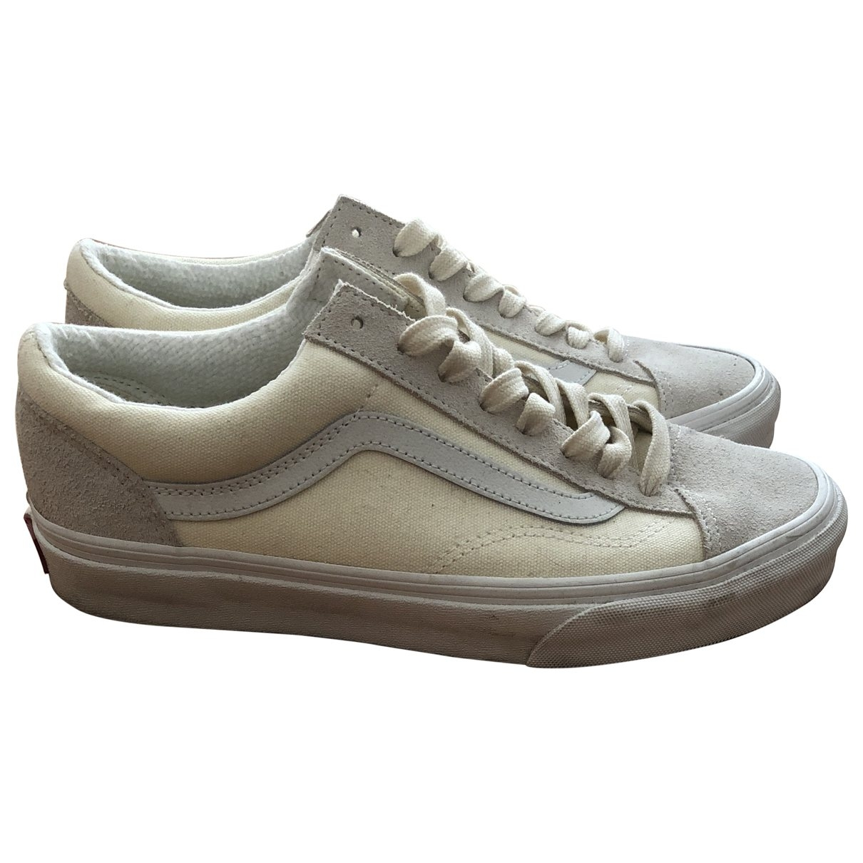 Vans \N Beige Cloth Trainers for Men 40.5 EU