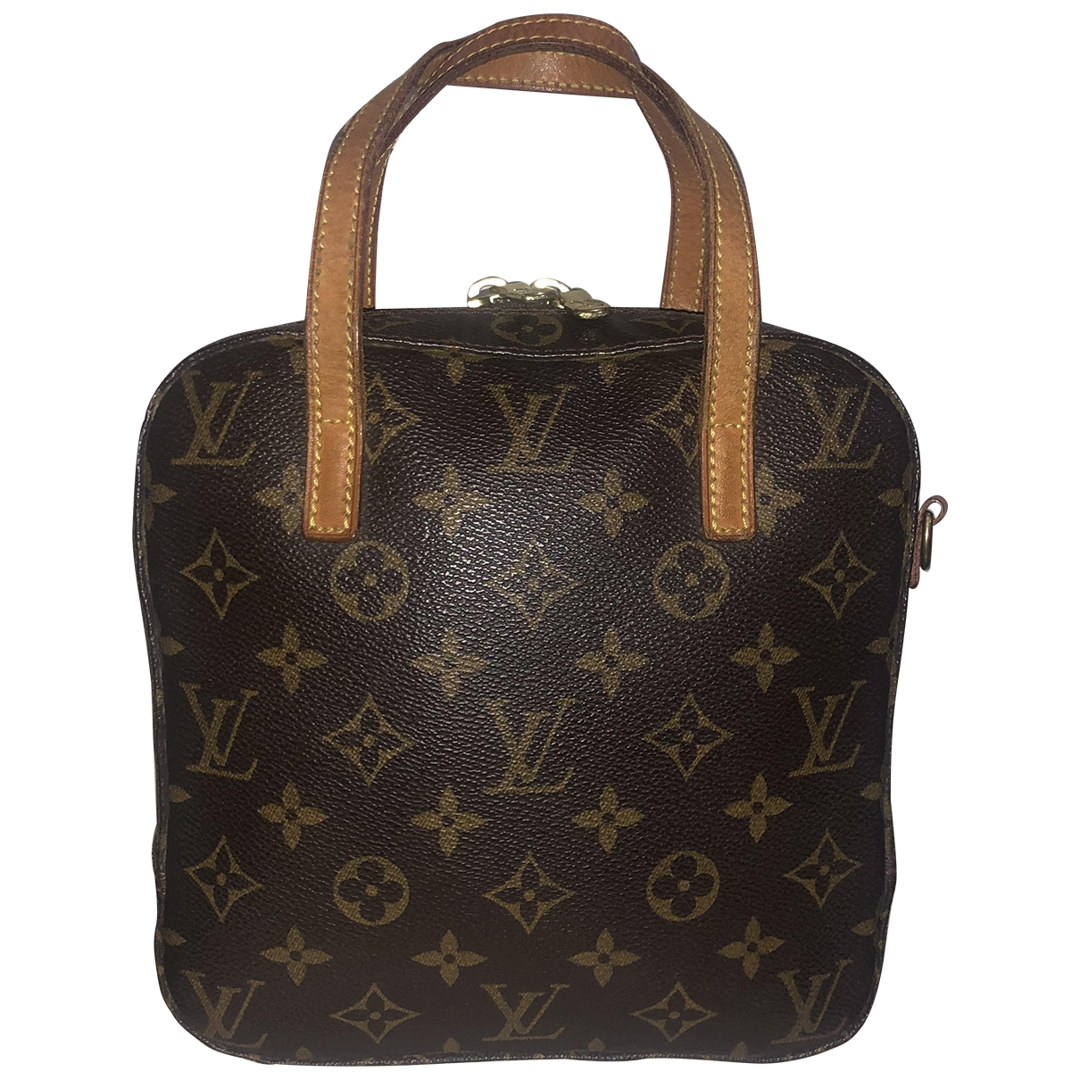 Bolso  Spontini de Lona Louis Vuitton